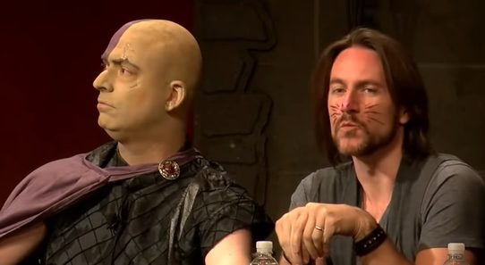 Minsc and Boo, performed by Jim Zub and Matt Mercer